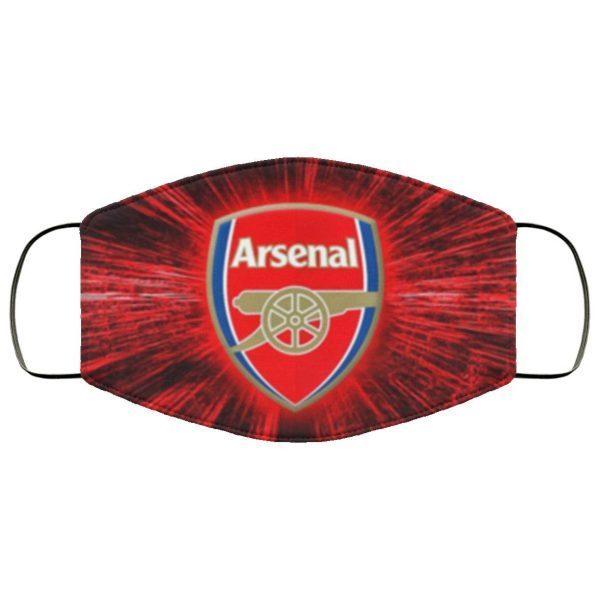 Arsenal Face Mask Cloth Face Mask