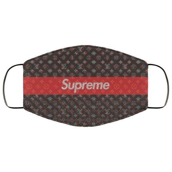 Supreme Louis Vuitton Face Mask