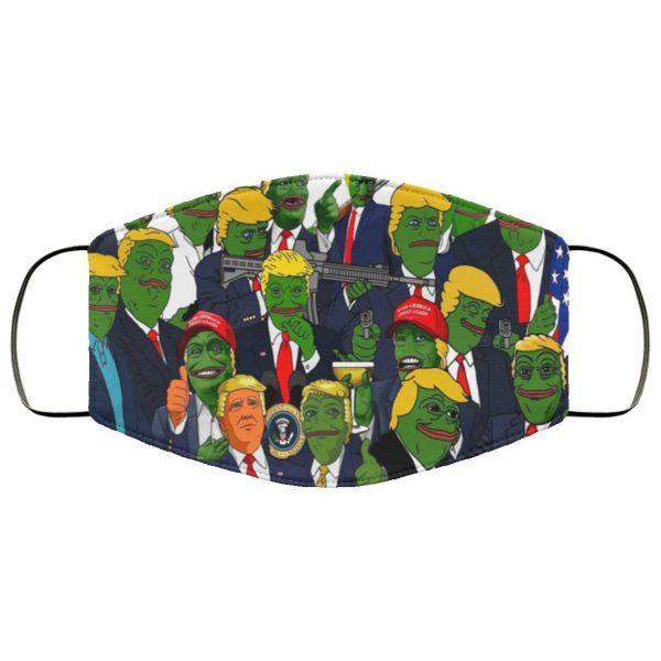 Donald Trump Pepe (meme) Sadfrog Kek North America USA Face Mask
