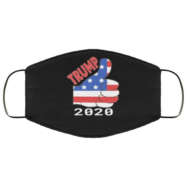 Trump 2020 American Flag Face Mask