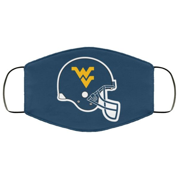 WVU-West Virginia Mountaineers Face Mask