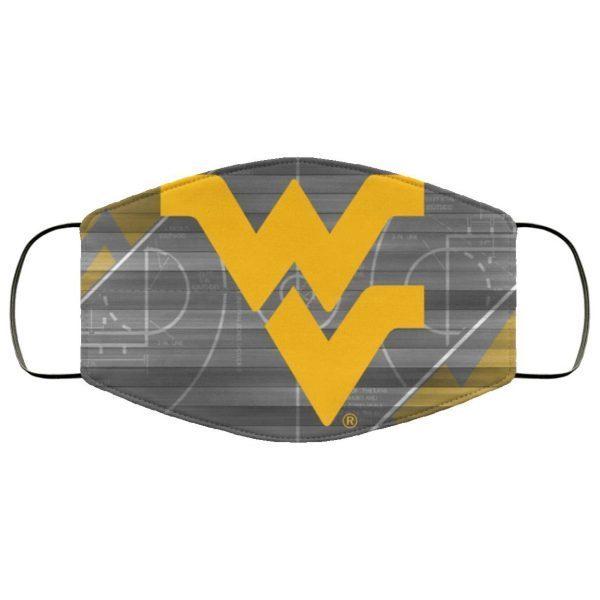 WVU West Virginia NCAA Tournament Face Mask