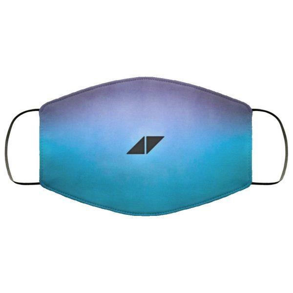 Avicii Av Blue Purple Tomorrowland HD Face Mask