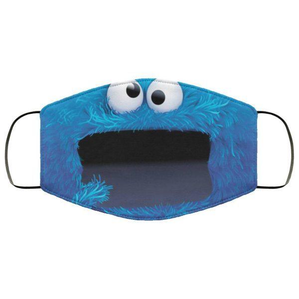 Monster Cartoon Face Mask