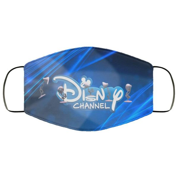Six Pixar Lamps Luxo Jr Logo Spoof DISNEY CHANNEL Logo Face Mask