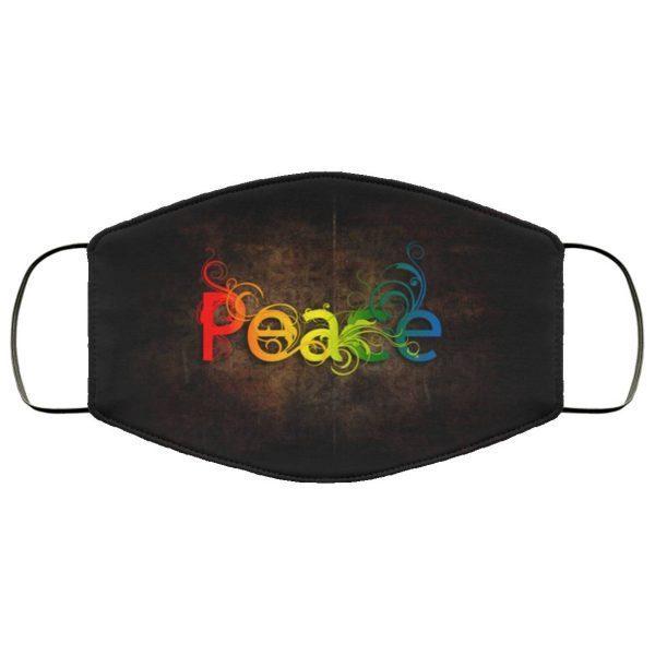 Ethnic Peace Face Mask