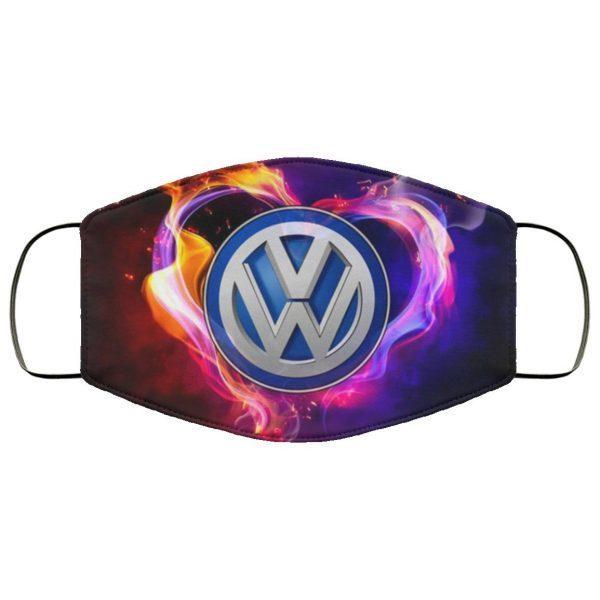 Logo VW Wallpapers Face Mask