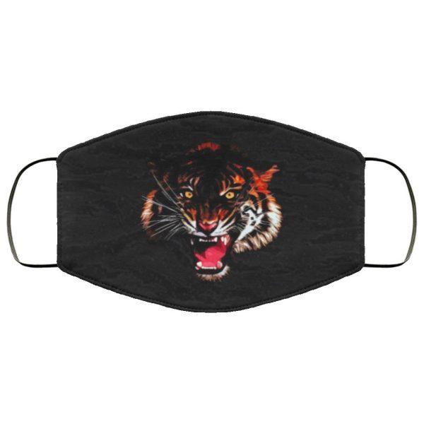 Tiger 3D Live Face Mask