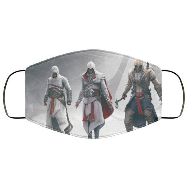 Assassins Creed Character Face Mask