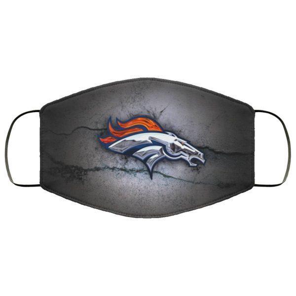 2014 Denver Broncos Face Mask