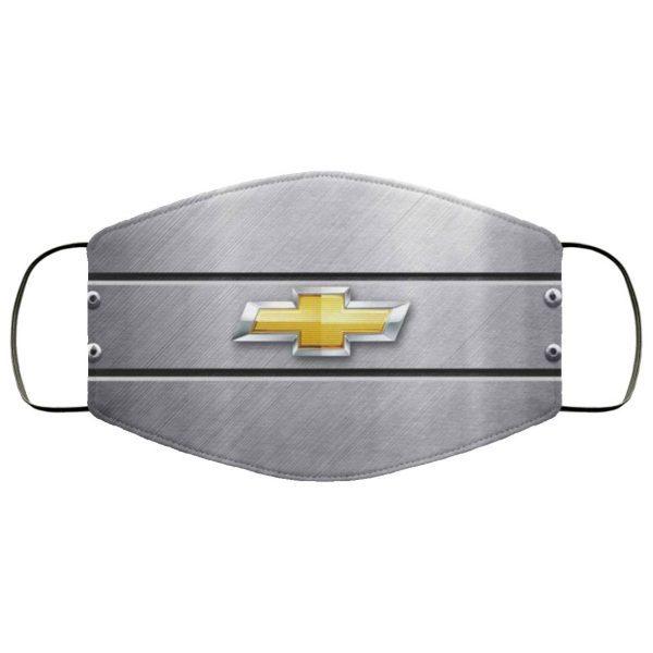 Chevy Chevrolet Logo Face Mask