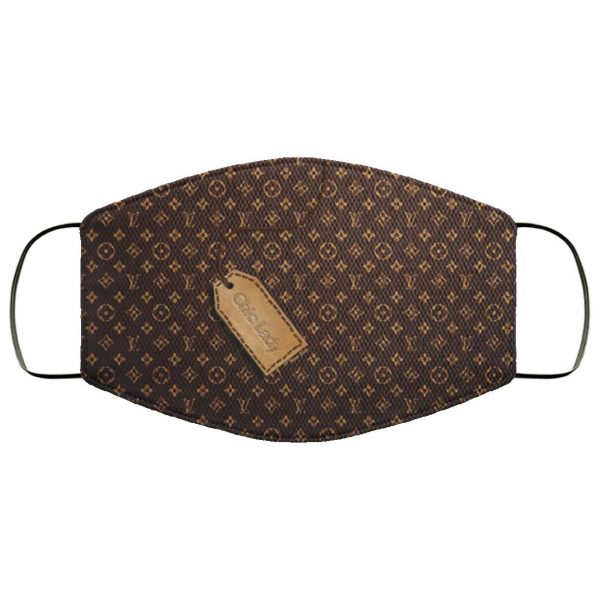 Louis Vuitton Wallpaper Face Mask