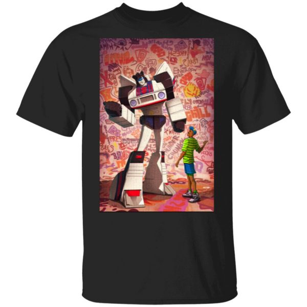 autobot jazz and the fresh prince T-Shirt