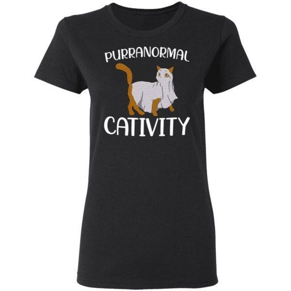 Purranormal Cativity Halloween shirt