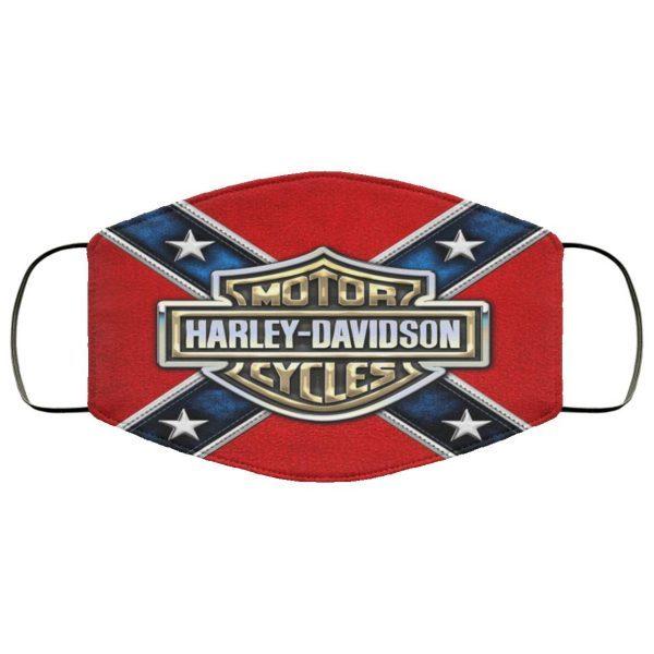 Harley Davidson Motorcycle Face Mask