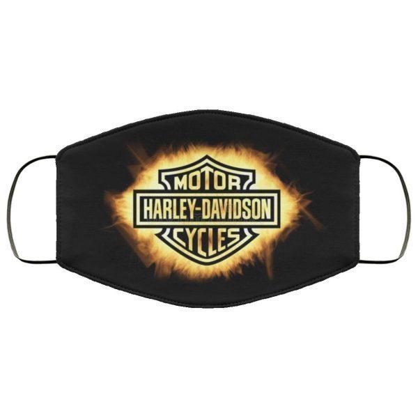 Harley Davidson Stock Face Mask