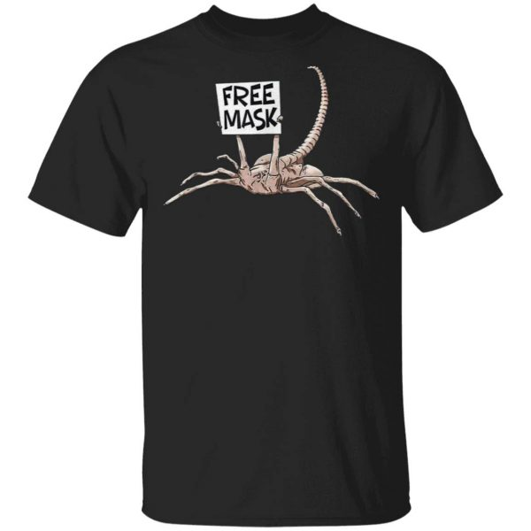 Free Mask funny gift face mask T-Shirt