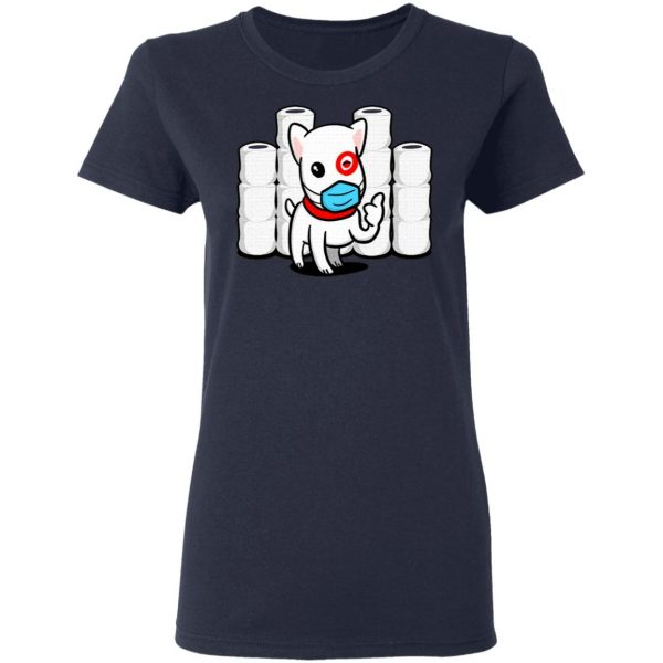 Essential Dog with Toilet Paper Good Aim Dog T-Shirt