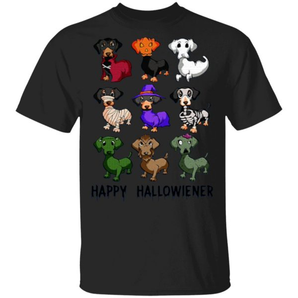 Dachshune Hallowiener Shirt