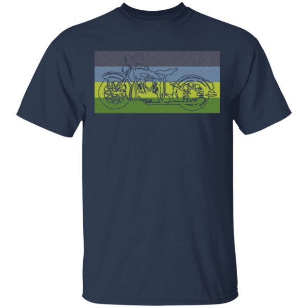 Motorcycle Motorcyclist 0301 T-Shirt