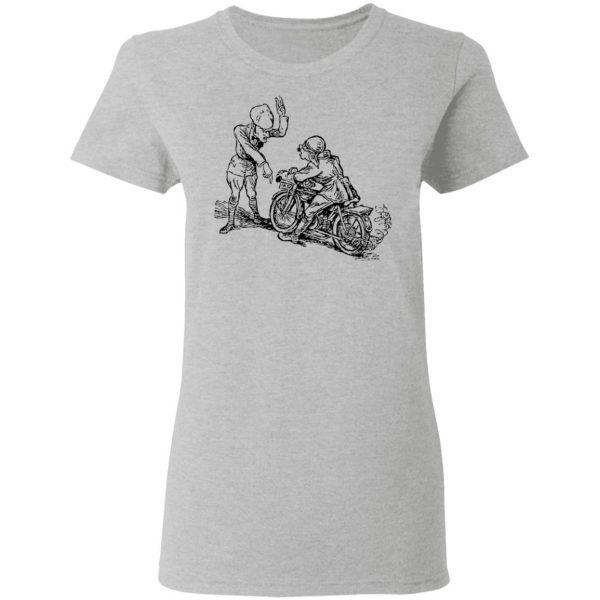 Motocross Motorcycles Athlete Sport Motorrad37 0678 T-Shirt