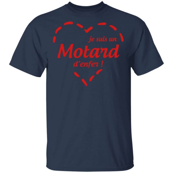 Biker Motorbike Motorrad Moto Motard Motorista 0810 T-Shirt