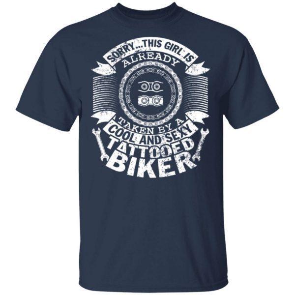 Cool And Sexy Tatooed Biker 0887 T-Shirt