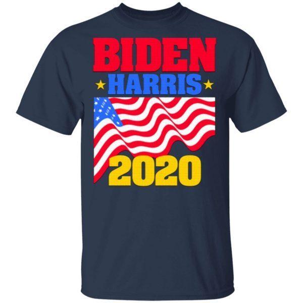BidenHarris 2020 for Dark Backgrounds T-Shirt