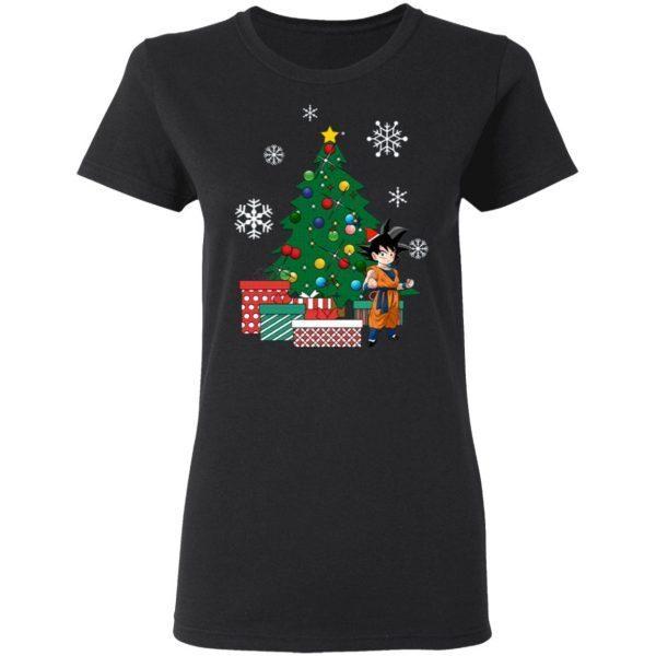 Goten Around The Christmas Tree Dragonball Z T-Shirt