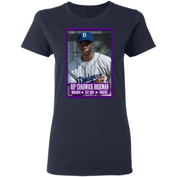 Rip chadwick boseman T-Shirt