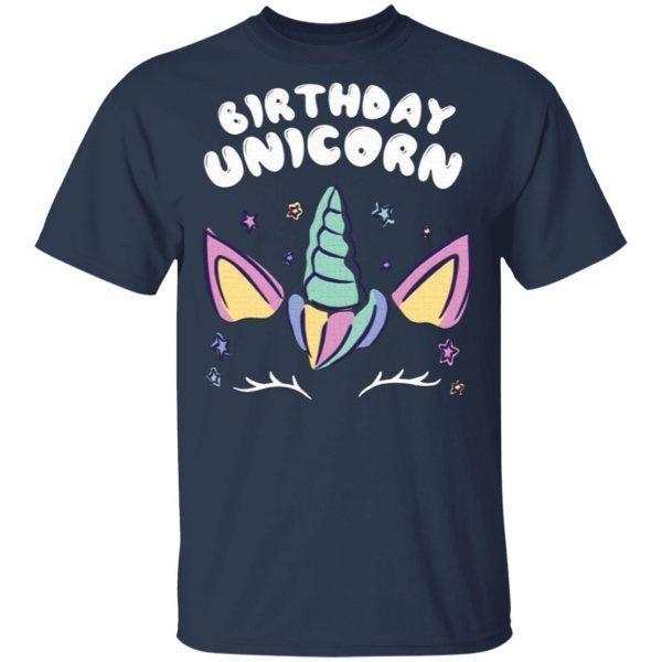 Birthday Unicorn – Birthday Present Unicorn T-Shirt