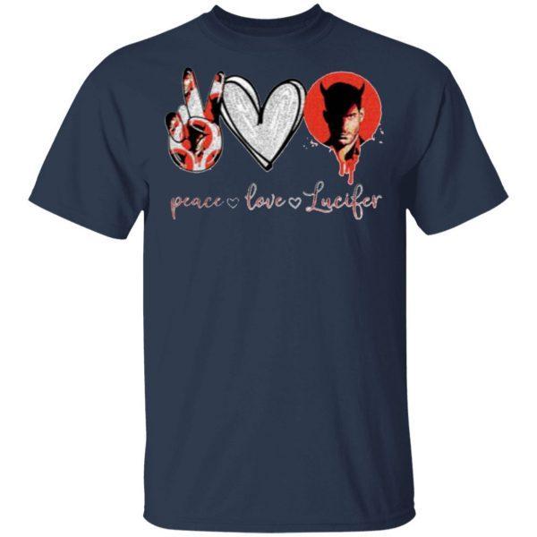 Peace Love Lucifer Shirt