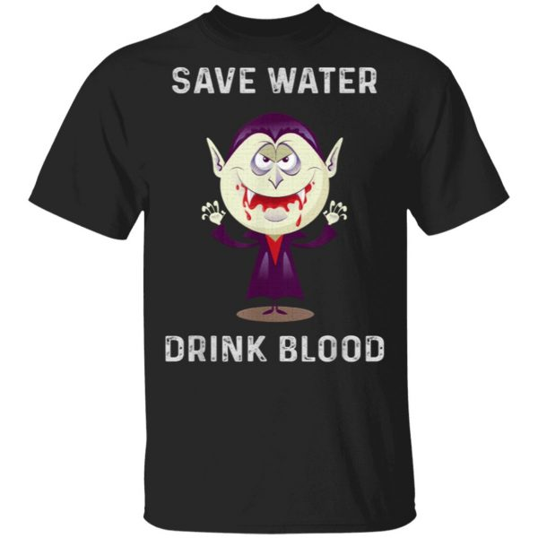 Halloween outfit gift graphic gift idea party drink vampire T-Shirt