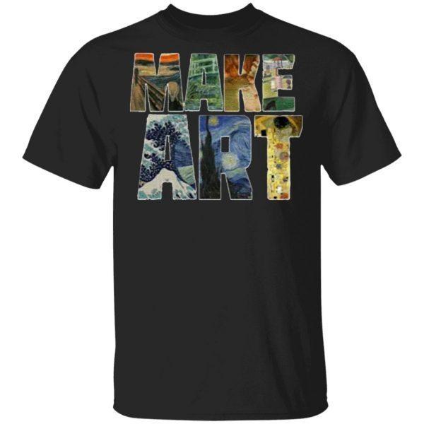 Make Art Sweater Shirt