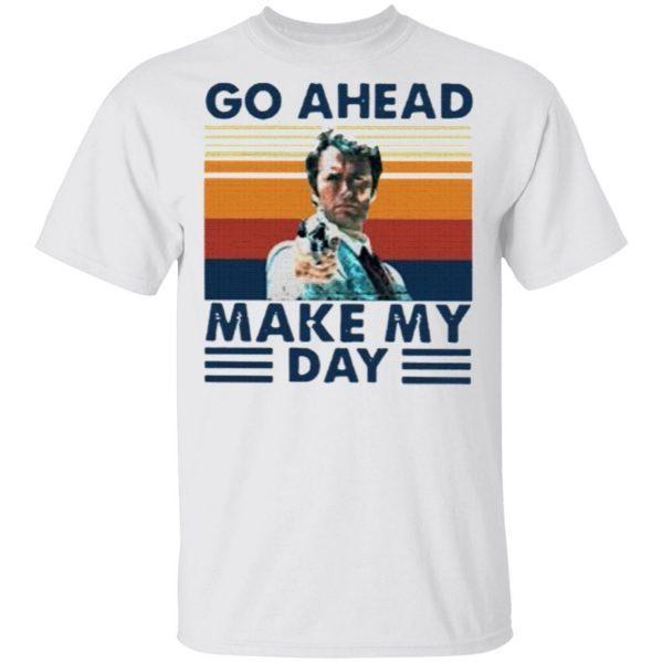 Dirty Harry go ahead make my day vintage shirt