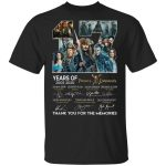 17 years of Pirates Caribbean Anniversary T-Shirt