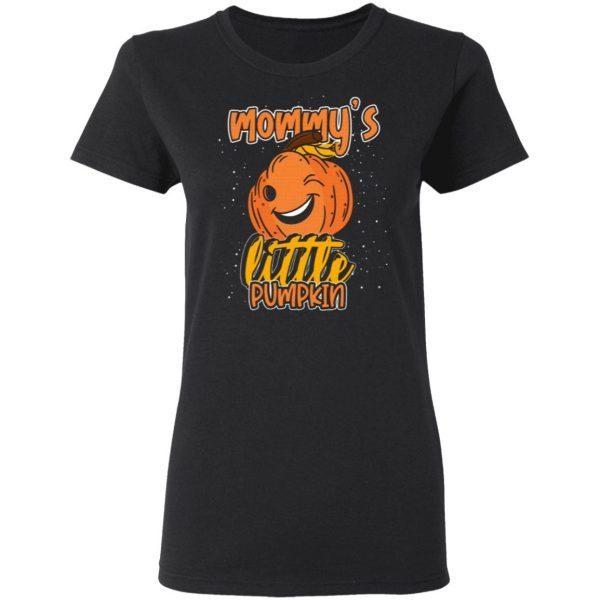 Mommys Little Pumpkin Halloween T-Shirt