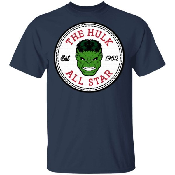 The Incredible Hulk All Star Converse Logo T-Shirt