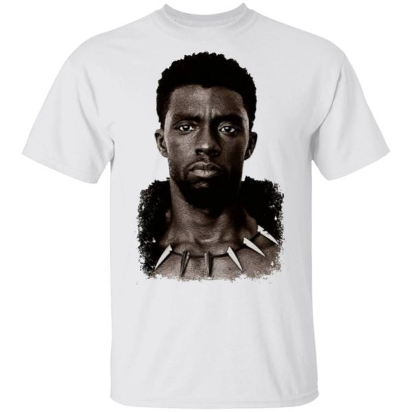 Chadwick Boseman Wakanda Forever T'Challa Black Panther T-Shirt