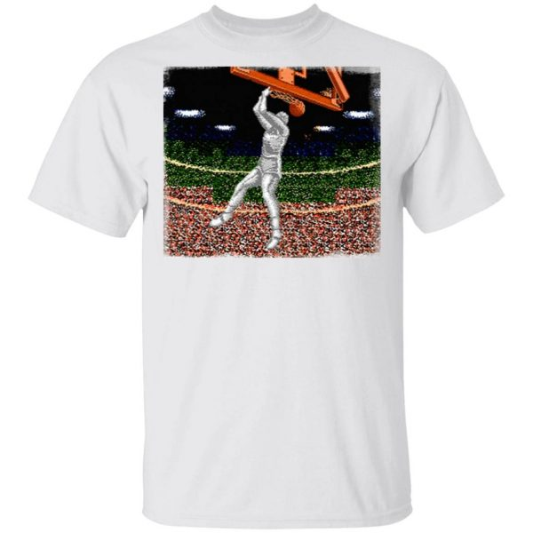 Double Dribble Nes Game T-Shirt