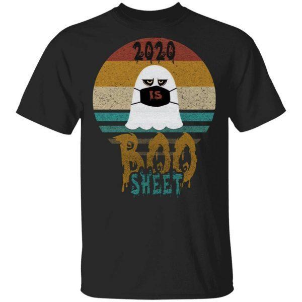 2020 is boo sheet vintage retro T-Shirt