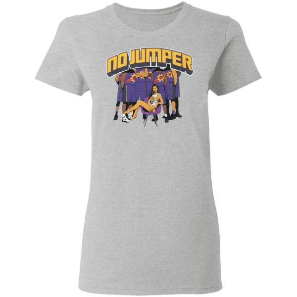 No Jumper Merch Sundowner T-Shirt