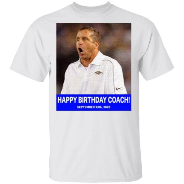Happy birthday coach T-Shirt
