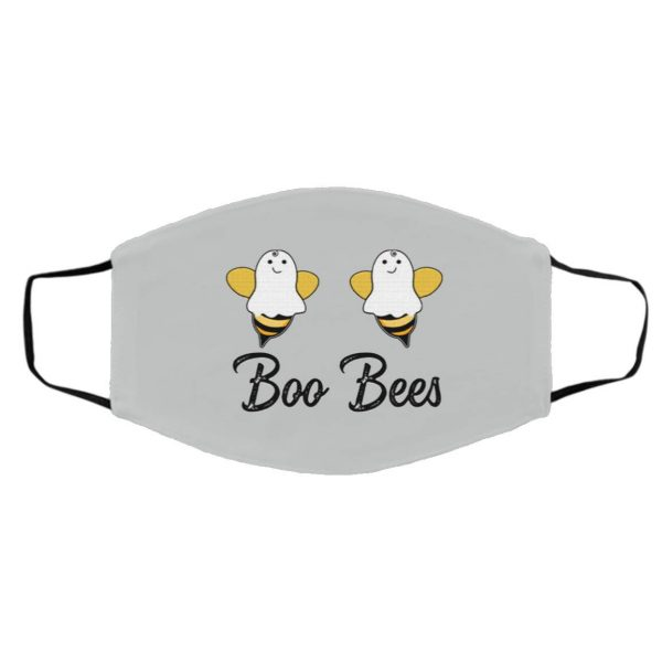 Boo Bee Cute Halloween Ghost Bees Face Mask