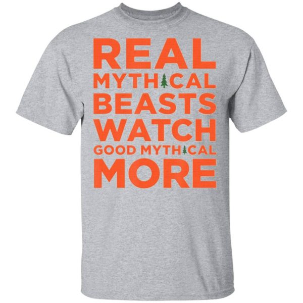 Real Mythical Beasts Watch Good Mythical More Retro T-Shirt