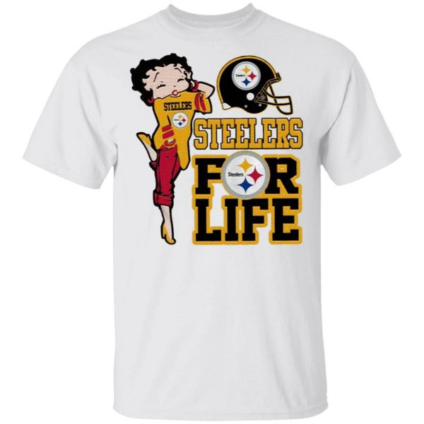 Pittsburgh Steelers Girl for life T-Shirt