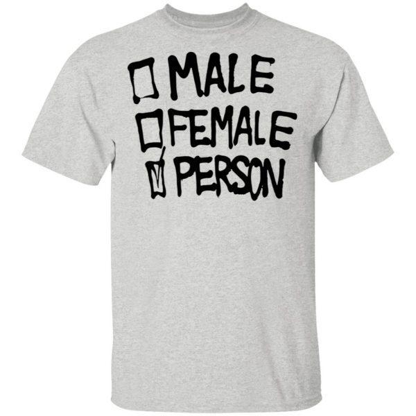 Male Famale Person T-Shirt