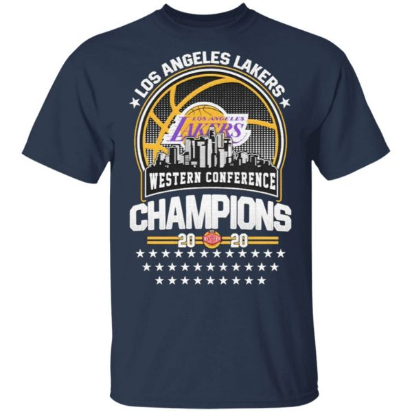 Los Angeles Lakers Western Conference Champions 2020 NBA Finals T-Shirt