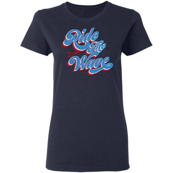 Ride The Wave Breakingt T-Shirt