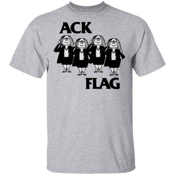 Cathy Ack Flag T-Shirt